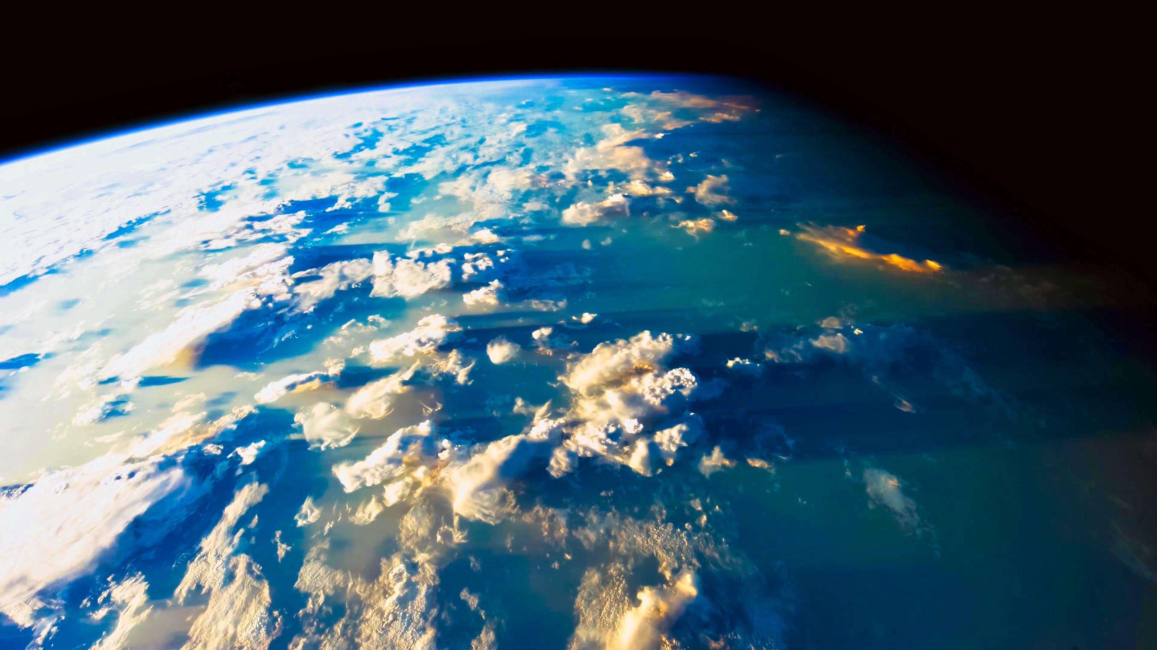 Kostenloses Stock Foto zu satellit, sonnenaufgang, sonnenuntergang, tiefer ozean