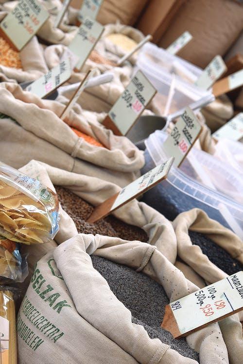Free stock photo of amsterdam, amsterdam market, bags