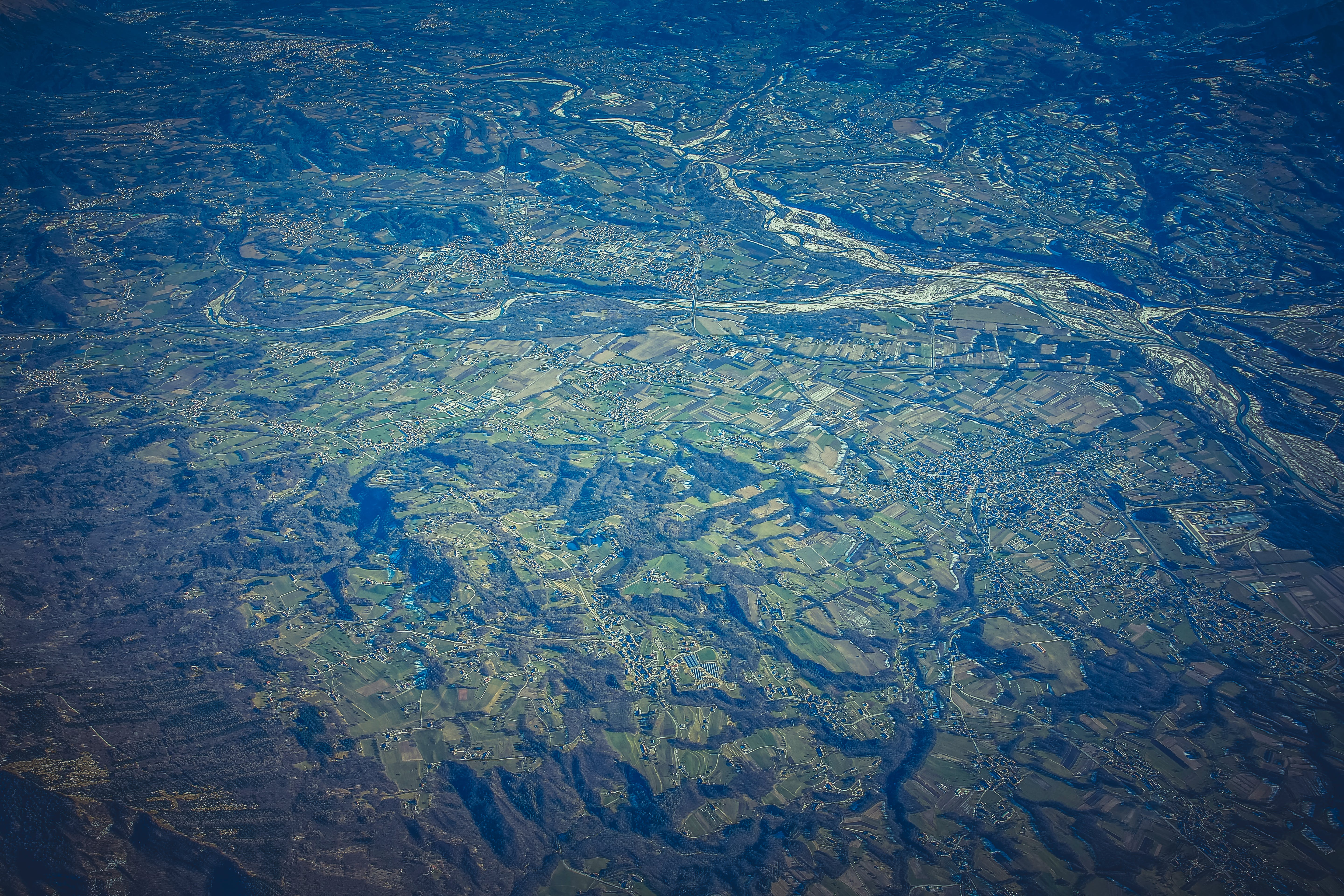 Aerial Photography of Green Mountain