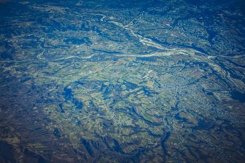 Gratis stockfoto met bird's eye view, bovenaanzicht, landschap, milieu