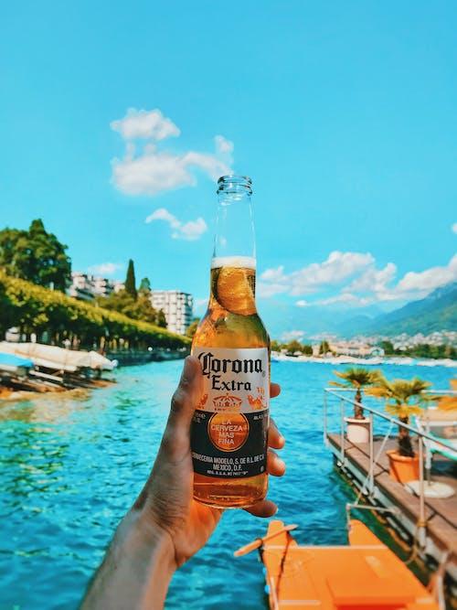 Безкоштовне стокове фото на тему «алкогольний напій, напій, океан, пиво»