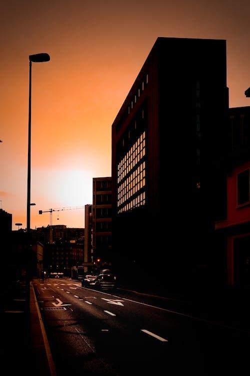 Ilmainen kuvapankkikuva tunnisteilla aamu, arkkitehtuuri, auringonlasku, auringonnousu