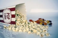 food, sweets, popcorn