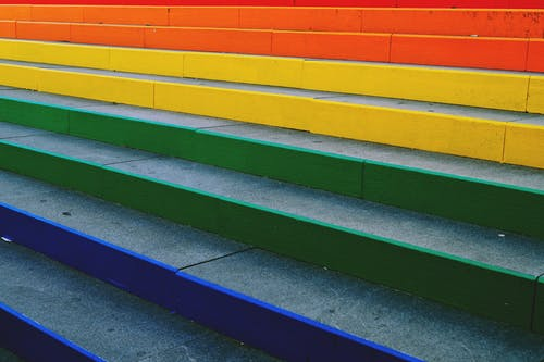 Foto profissional grátis de abstrair, arco-íris, arte, cheio de cor