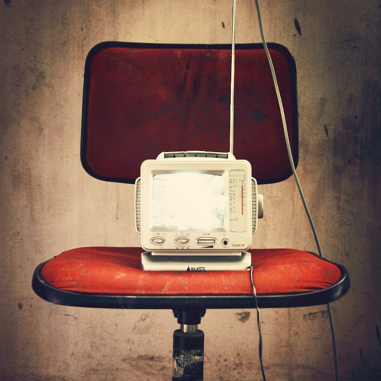 Free stock photo of chair, media, portable