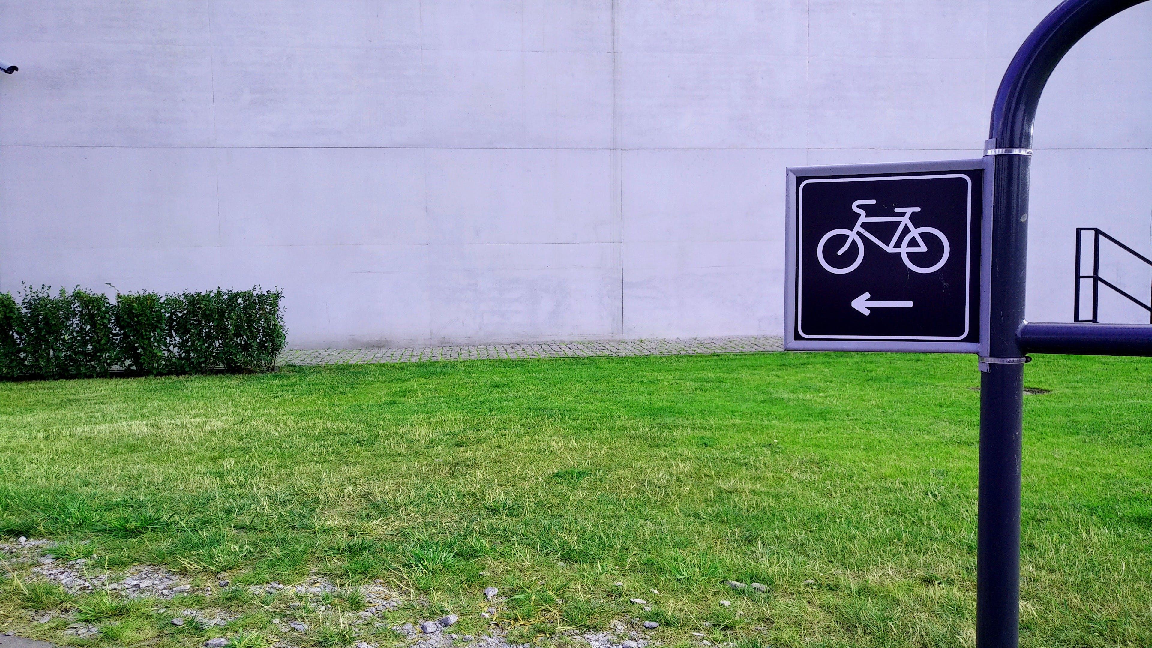 ドロガ・ロワーワ, プレート, 自転車のサイン, 自転車トラックの無料の写真素材