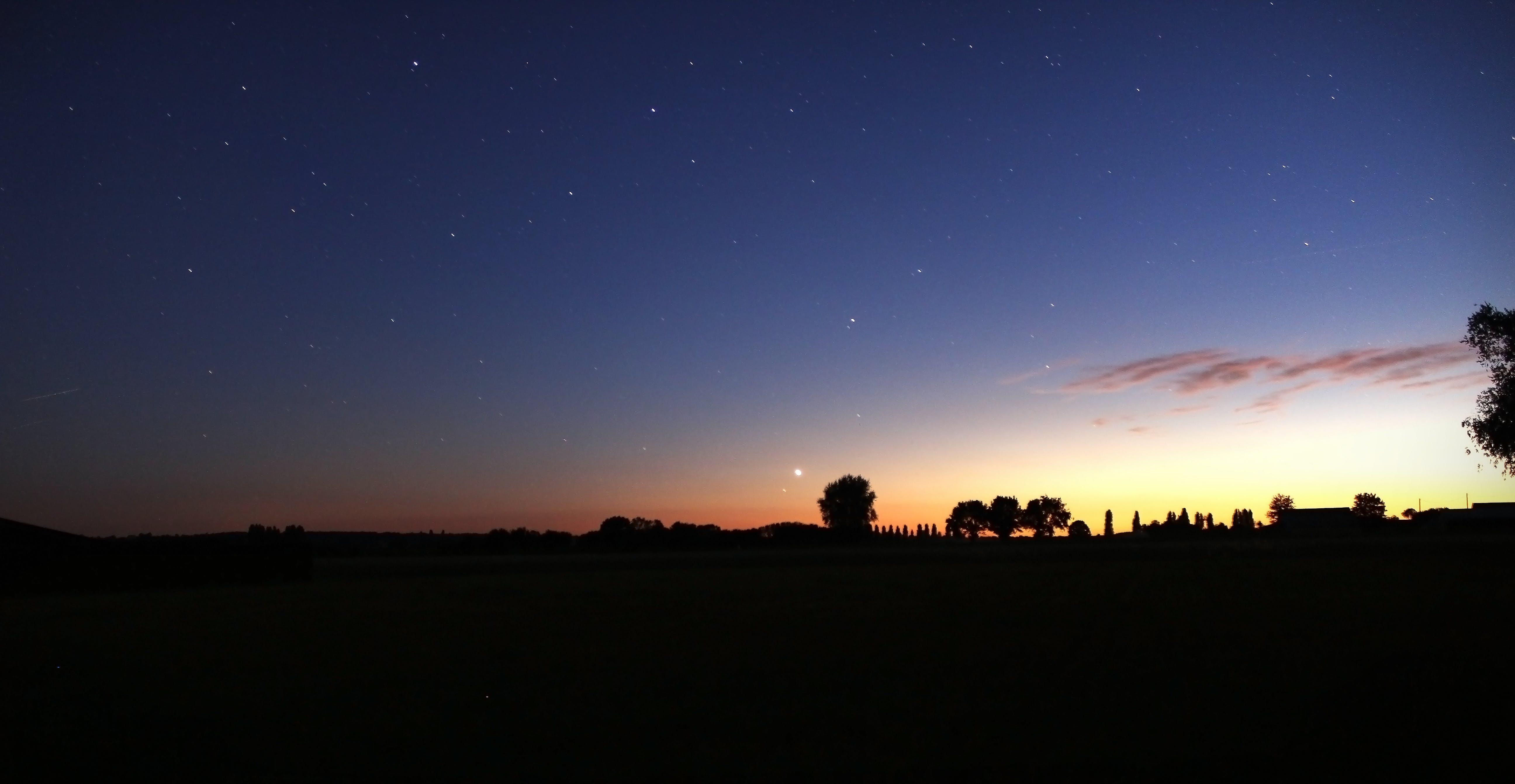 Free stock photo of night, star, starry, stars