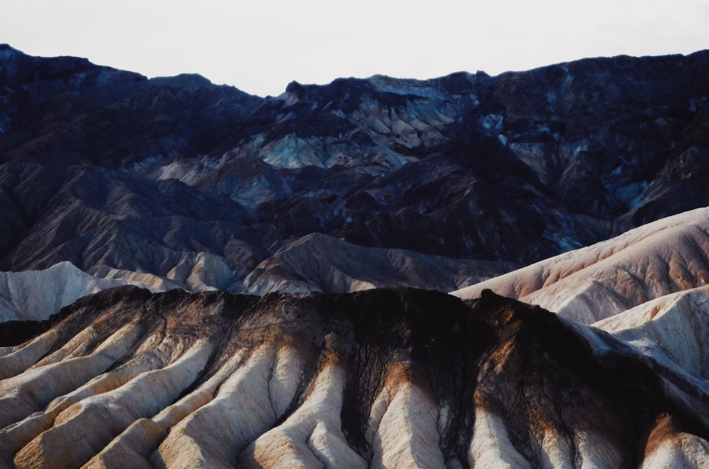 Free stock photo of black, brown, burnt, death valley
