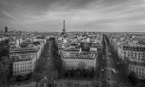 Photos gratuites de france, noir & blanc, paris, villes