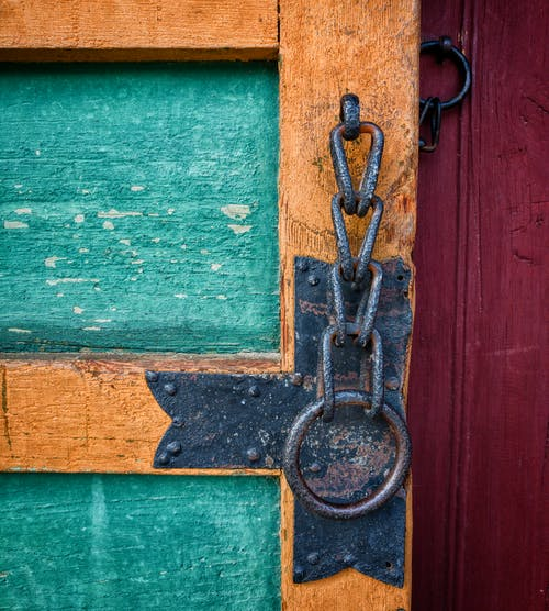 Free stock photo of classic, colorful, door