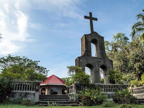 Free stock photo of chapel, church, cross, Philippines