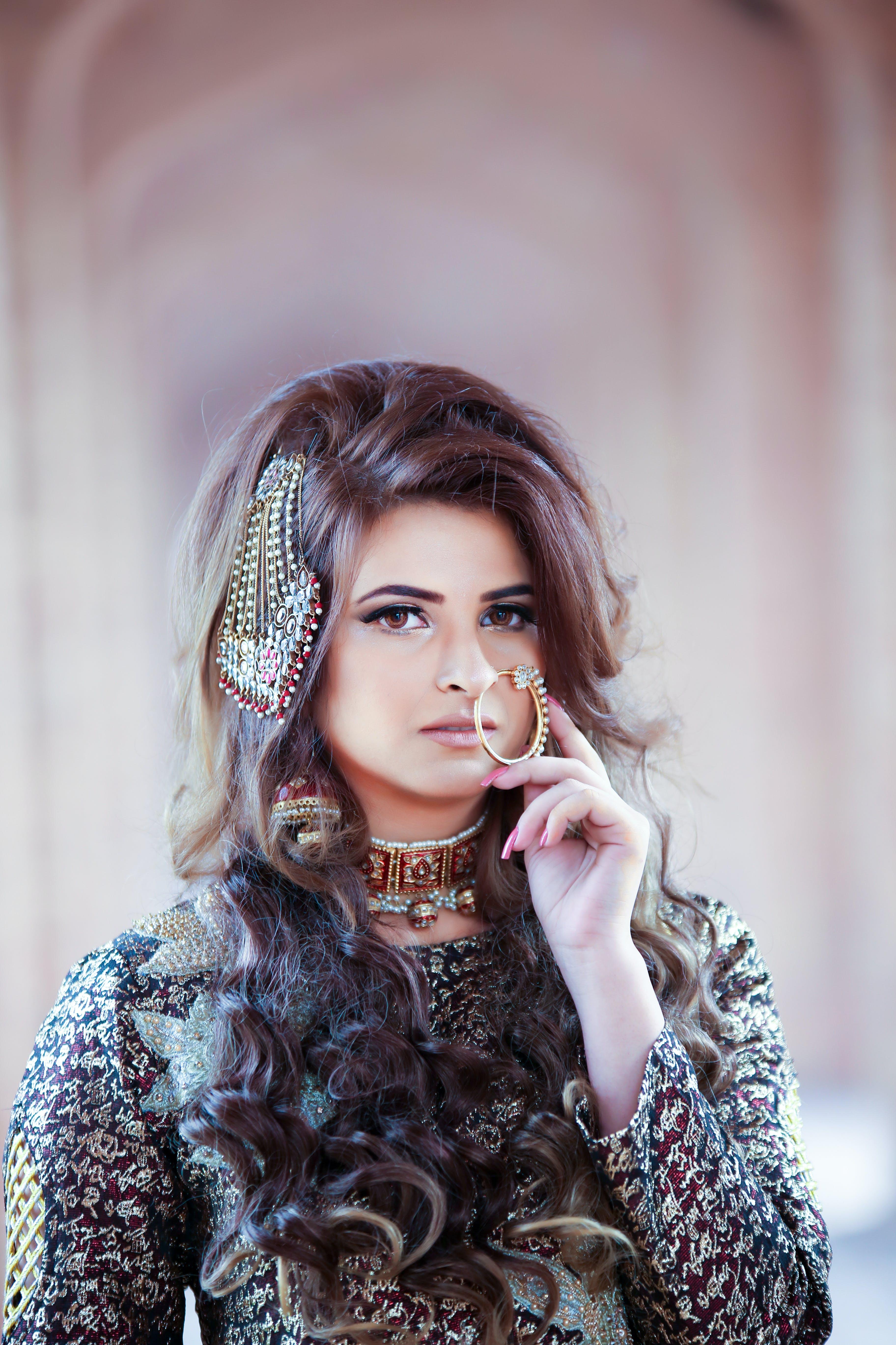 Free stock photo of fashion, fashion model, female model, ornaments