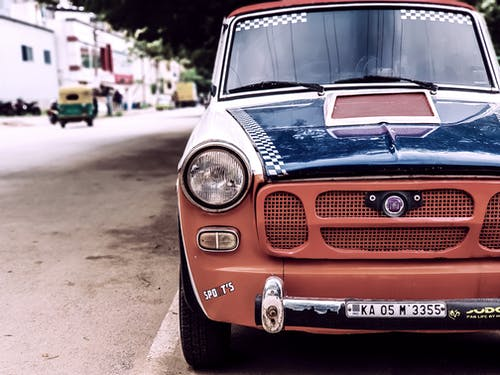 Free stock photo of Fiat, old car, Old is gold, retro