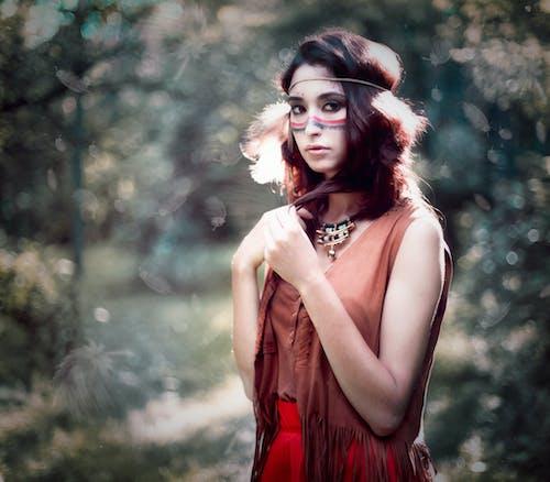 Základová fotografie zdarma na téma atraktivní, dáma, etnický, hezký