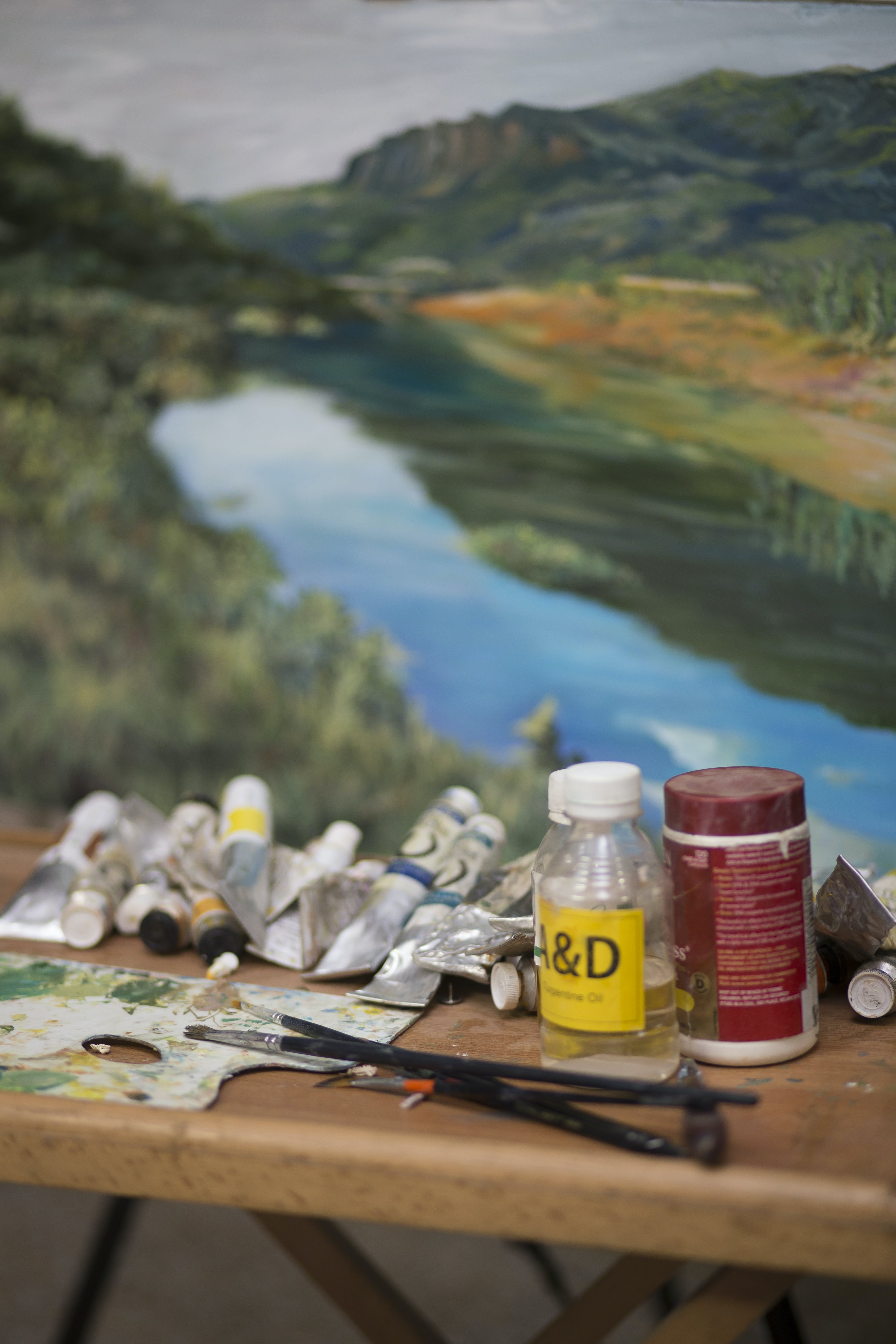 Free stock photo of art, brushes, painting, paints