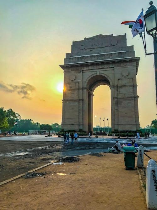 indiagate街頭攝影師, 印度 的 免費圖庫相片