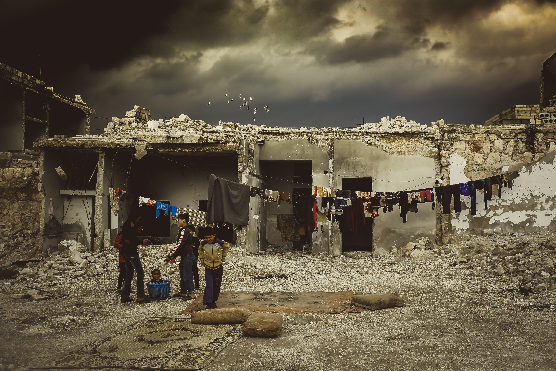 Free stock photo of #dilylive #war #child #city #syria #kieds