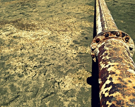 Free stock photo of water, rust, pipe, old