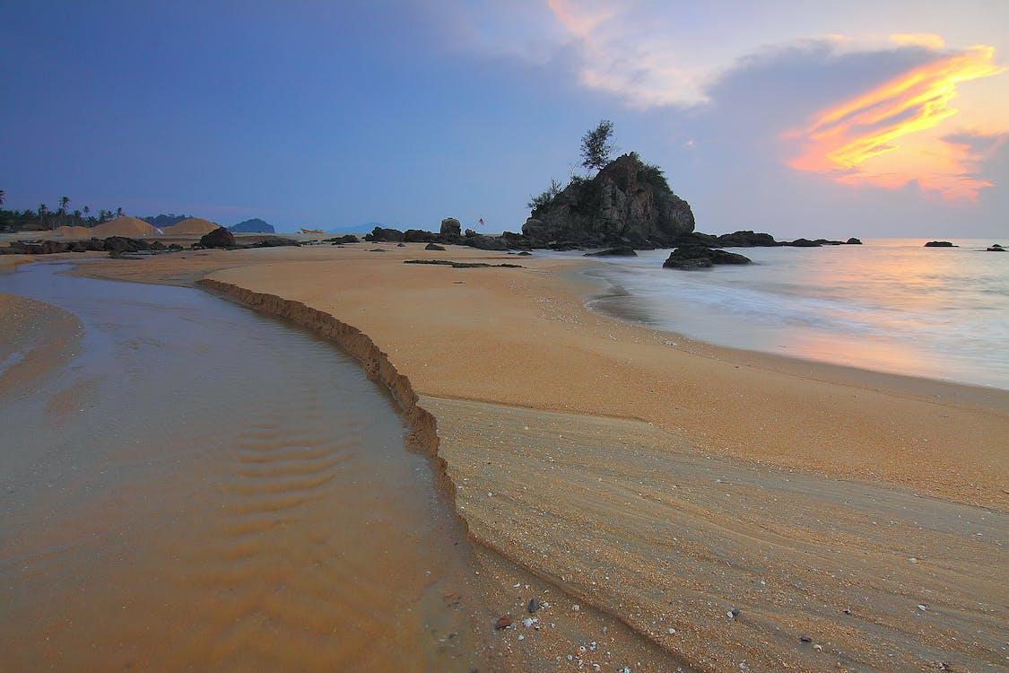 ακτή, ακτογραμμή, άμμος