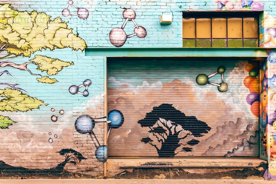 Lukisan Seni di Dinding