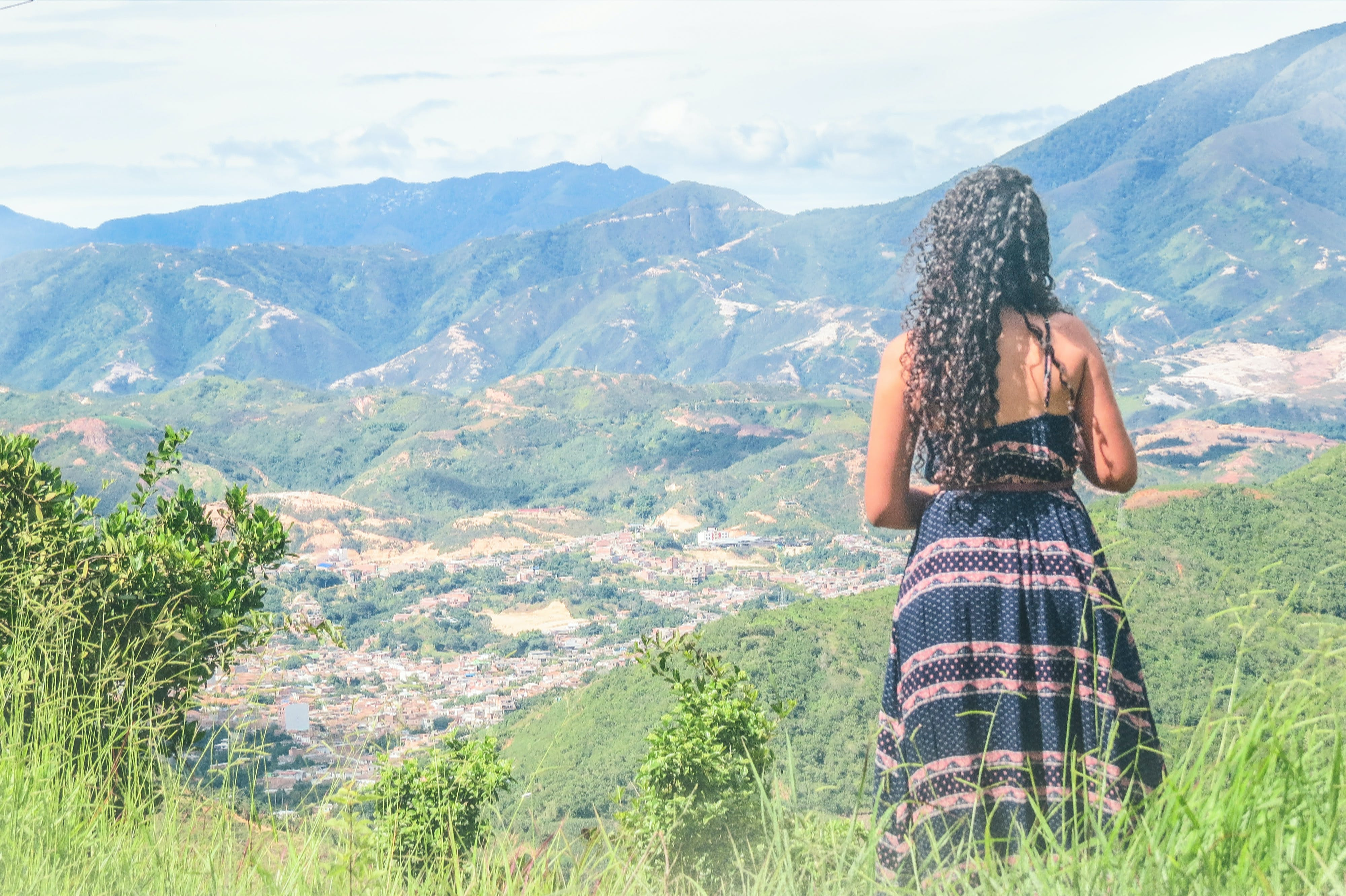 Free stock photo of colombia, girl, nature