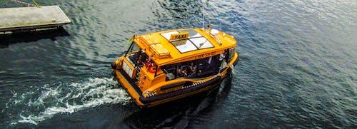 Ảnh lưu trữ miễn phí về ngày, phương tiện giao thông công cộng, taxi màu vàng, taxi nước