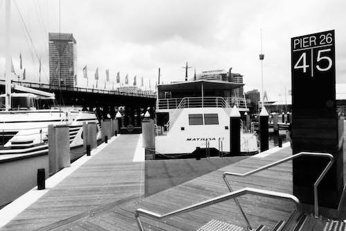 คลังภาพถ่ายฟรี ของ ท่าเรือ, น้ำ, วัน, วันหยุด