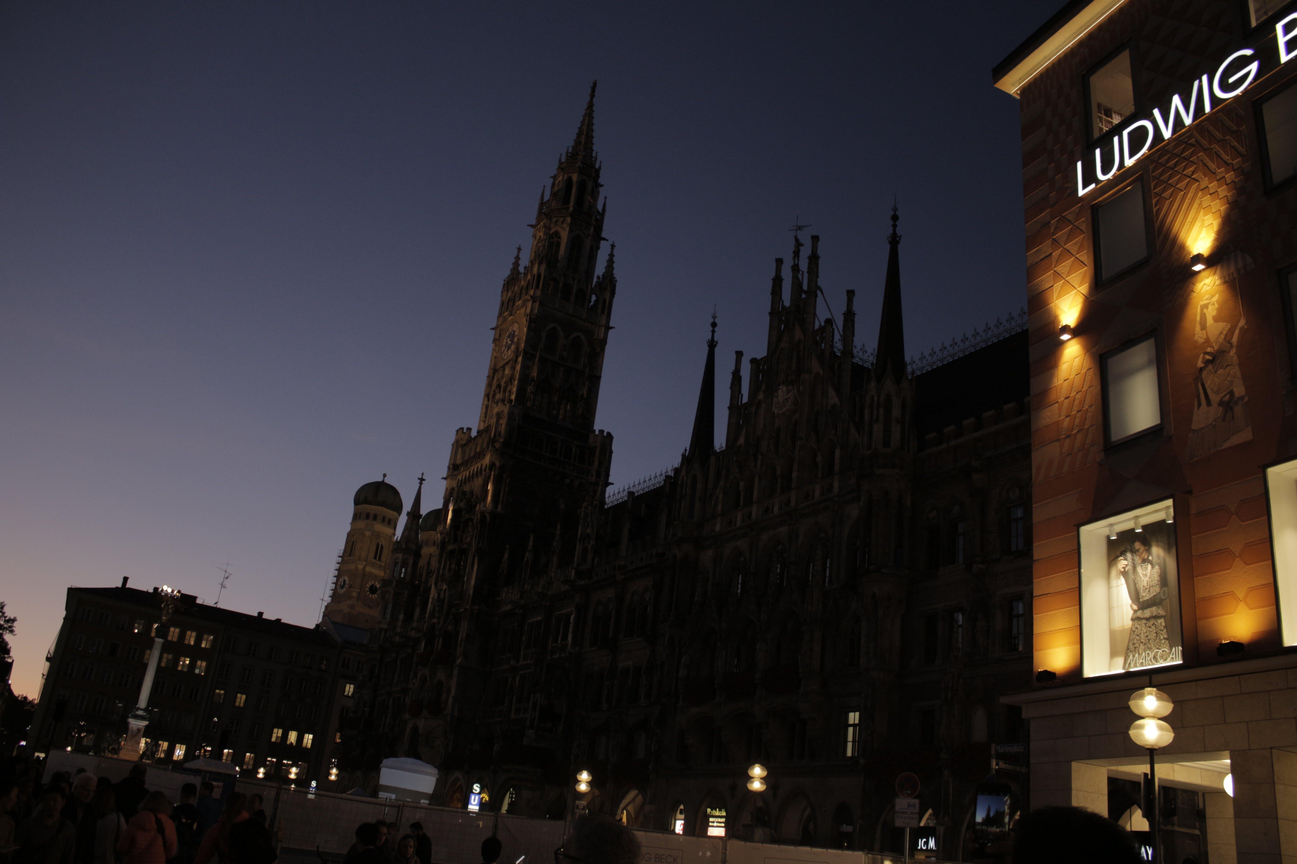 Ingyenes stockfotó abend, kirche, munchen, nacht témában