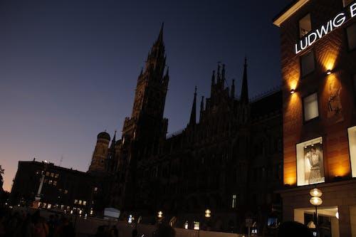 Free stock photo of Abend, kirche, munchen, Nacht