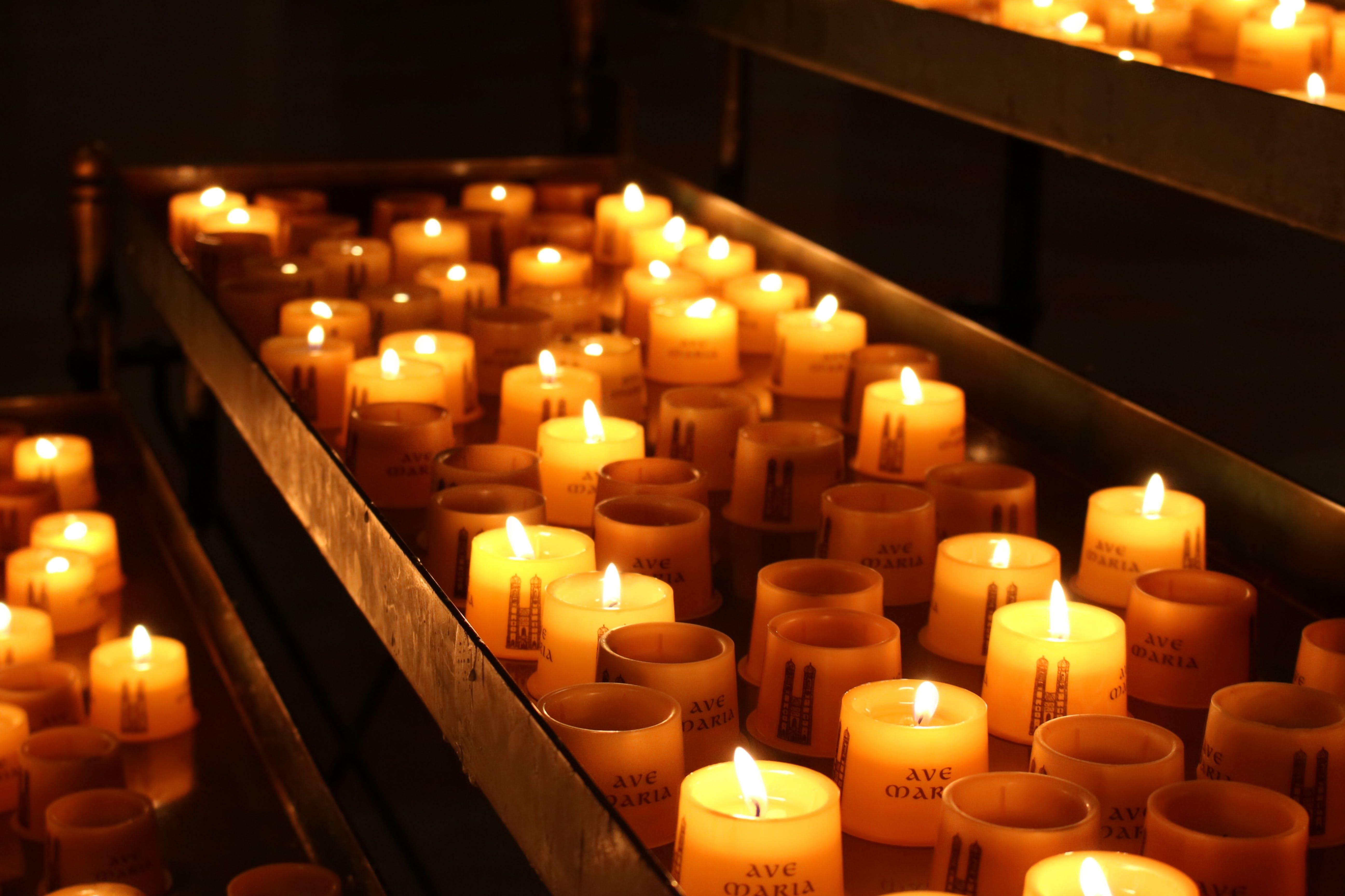 candle, candles, kerzen