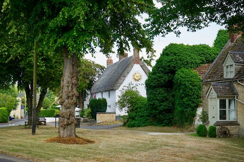 Ảnh lưu trữ miễn phí về làng, mái tranh, nhà tranh, nước Anh