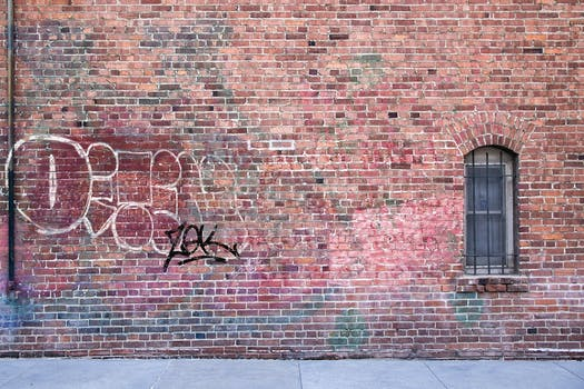 Brown Brick Wall 183 Free Stock Photo