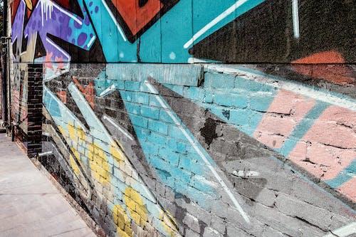 Fotobanka sbezplatnými fotkami na tému graffiti, pozadie, tehlová stena