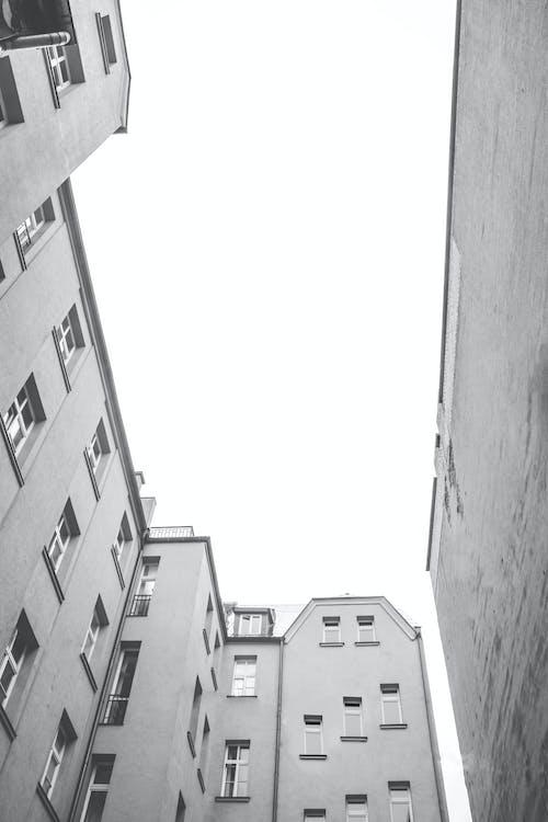 açık hava, apartman, bakış açısı içeren Ücretsiz stok fotoğraf