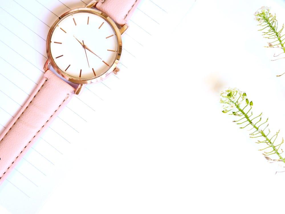 Closeup Photo of Analog Watch
