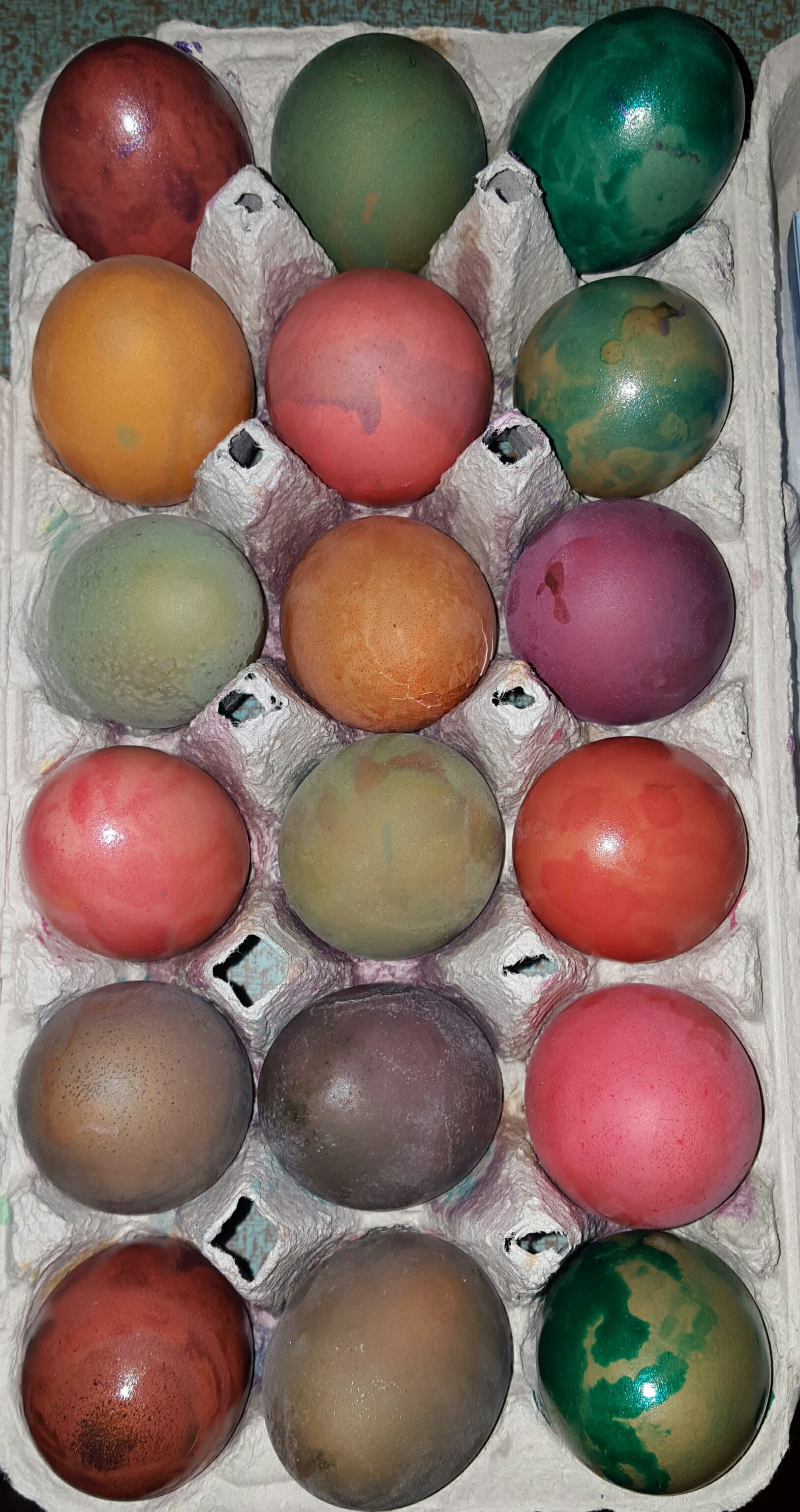 Free stock photo of dye, easter, eggs