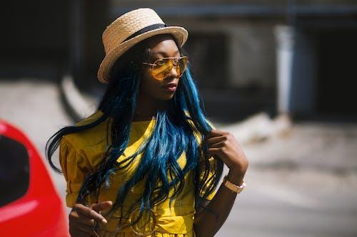 Základová fotografie zdarma na téma barevný, barvy, černá holka, denní