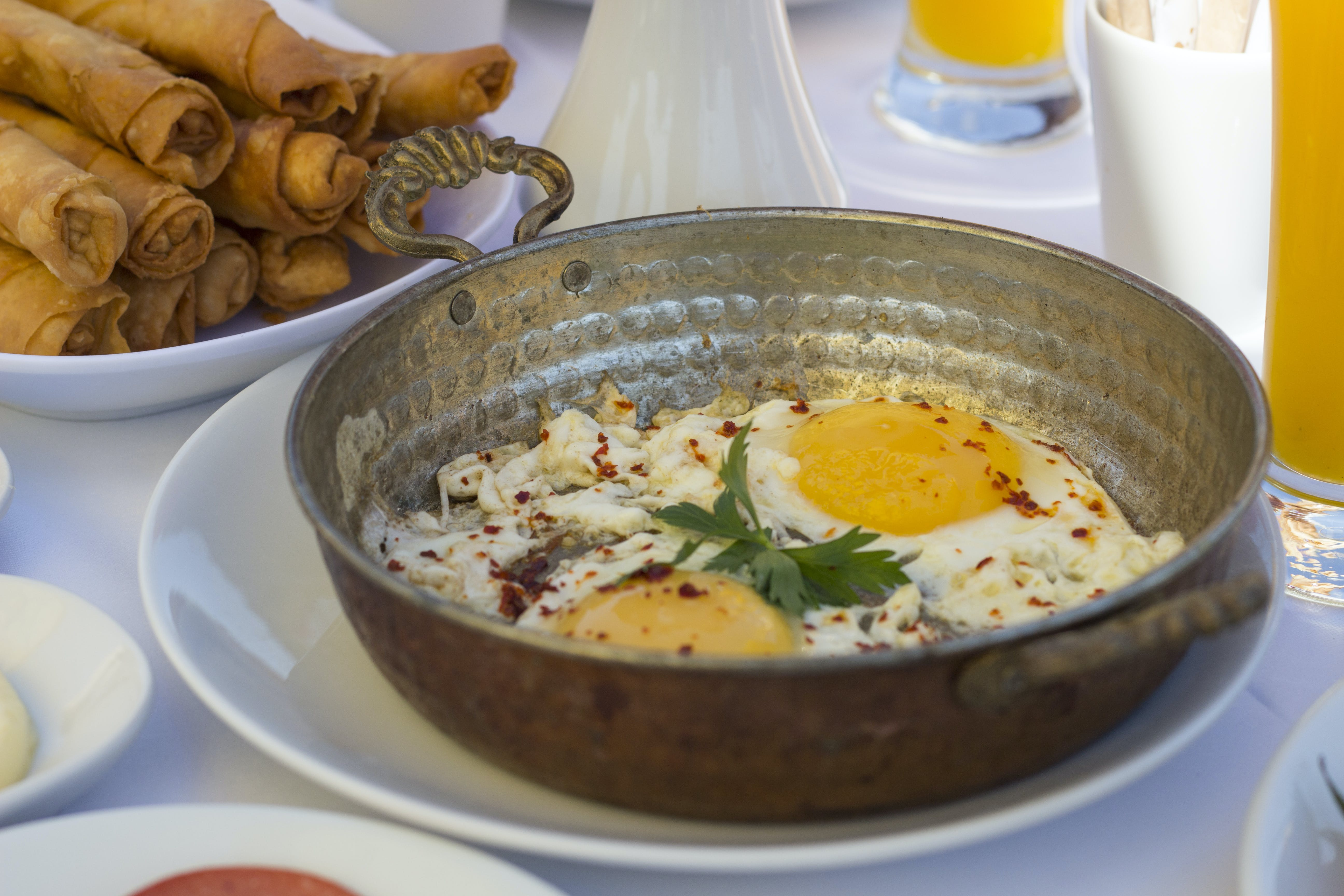 Free stock photo of breakfast, egg, traditional pan