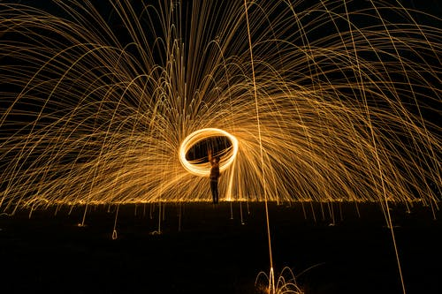 Free stock photo of light, lights, long exposure, night