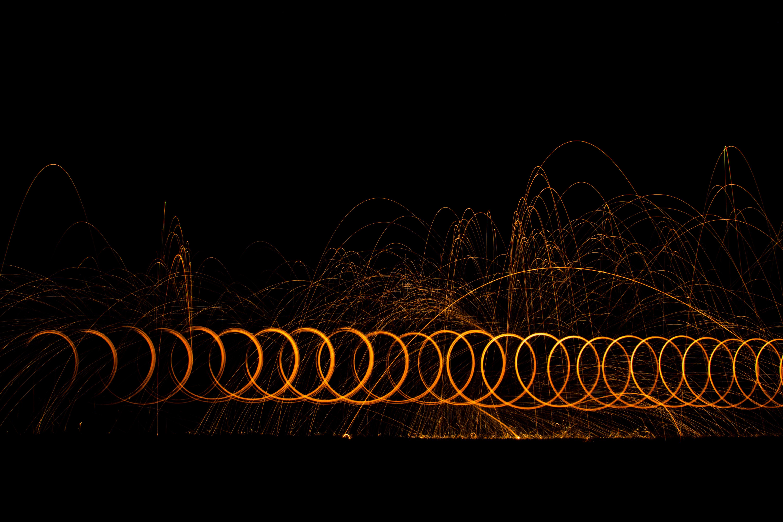 Gratis lagerfoto af lang eksponering, lys, nat, nattefotografering