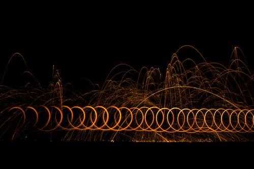 Imagine de stoc gratuită din expunere lungă, lumină, lumini, noapte