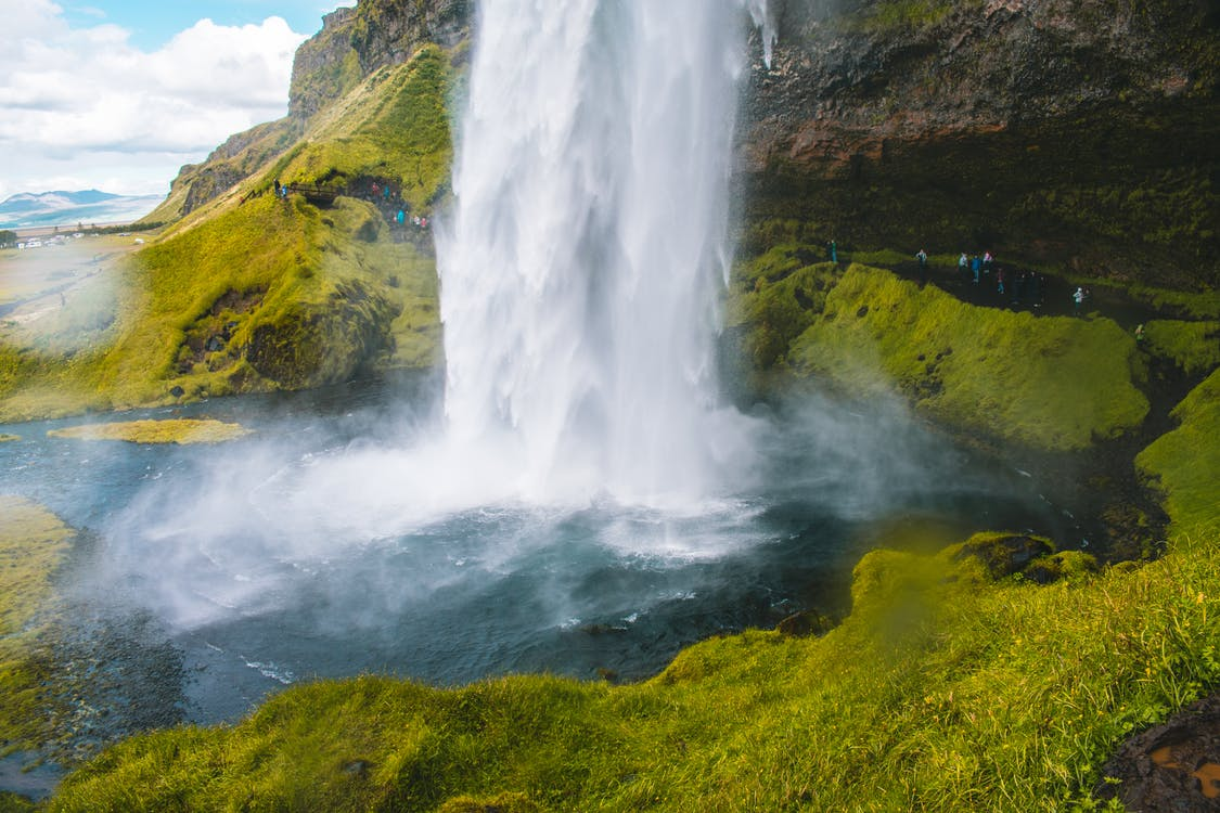 вода, водопад, водопады