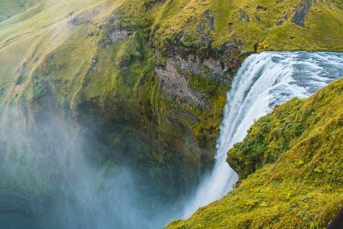 Безкоштовне стокове фото на тему «HD шпалери, вода, водоспади, гора»