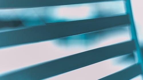 Foto stok gratis bingkai logam, biru, latar belakang kabur, logam