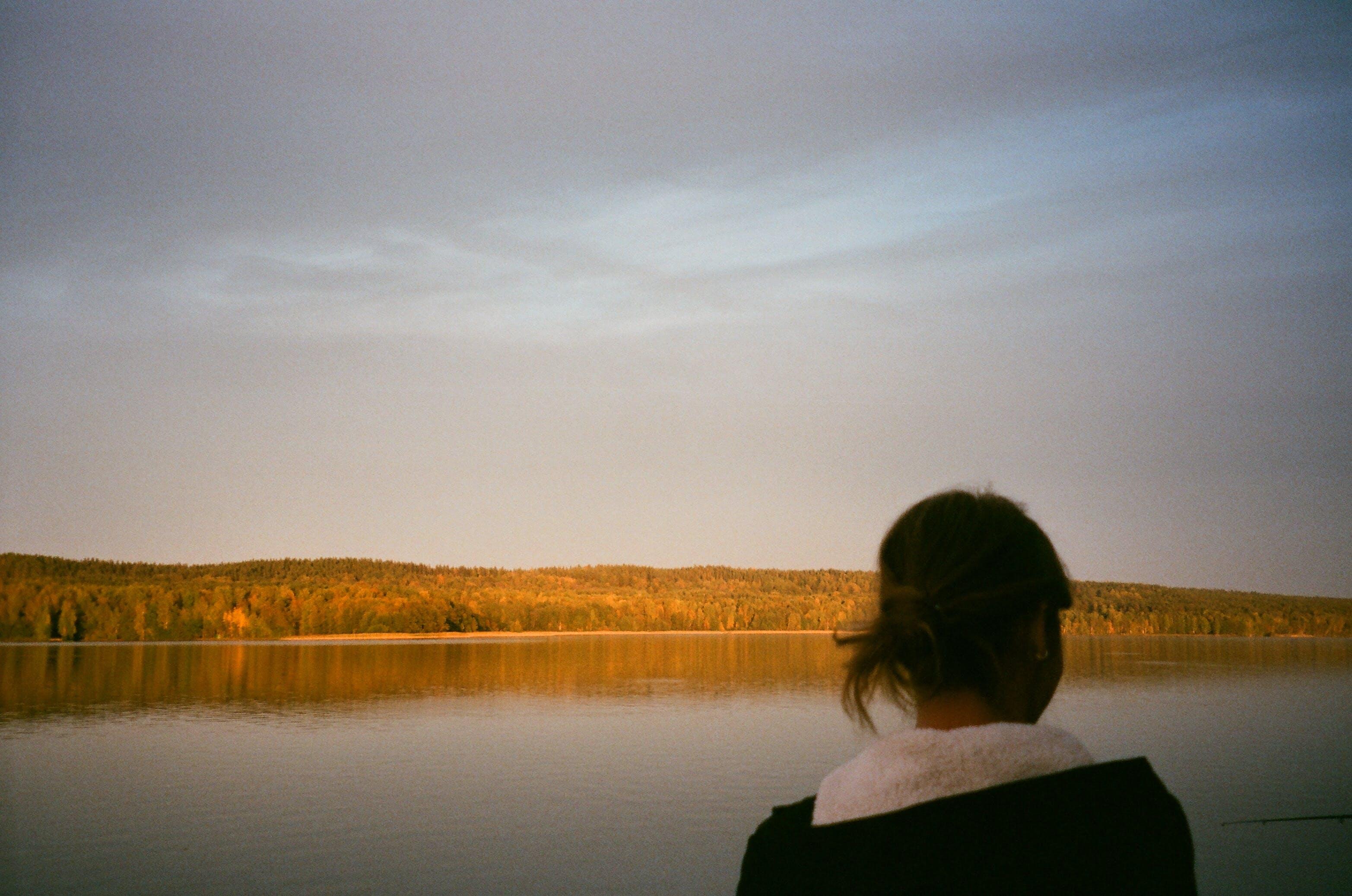 คลังภาพถ่ายฟรี ของ การพักผ่อนหย่อนใจ, การสะท้อน, คน, ตอนเย็น