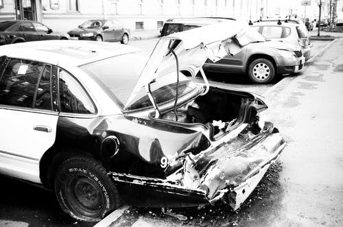 Photos gratuites de accident, automobile, brisé, cassé