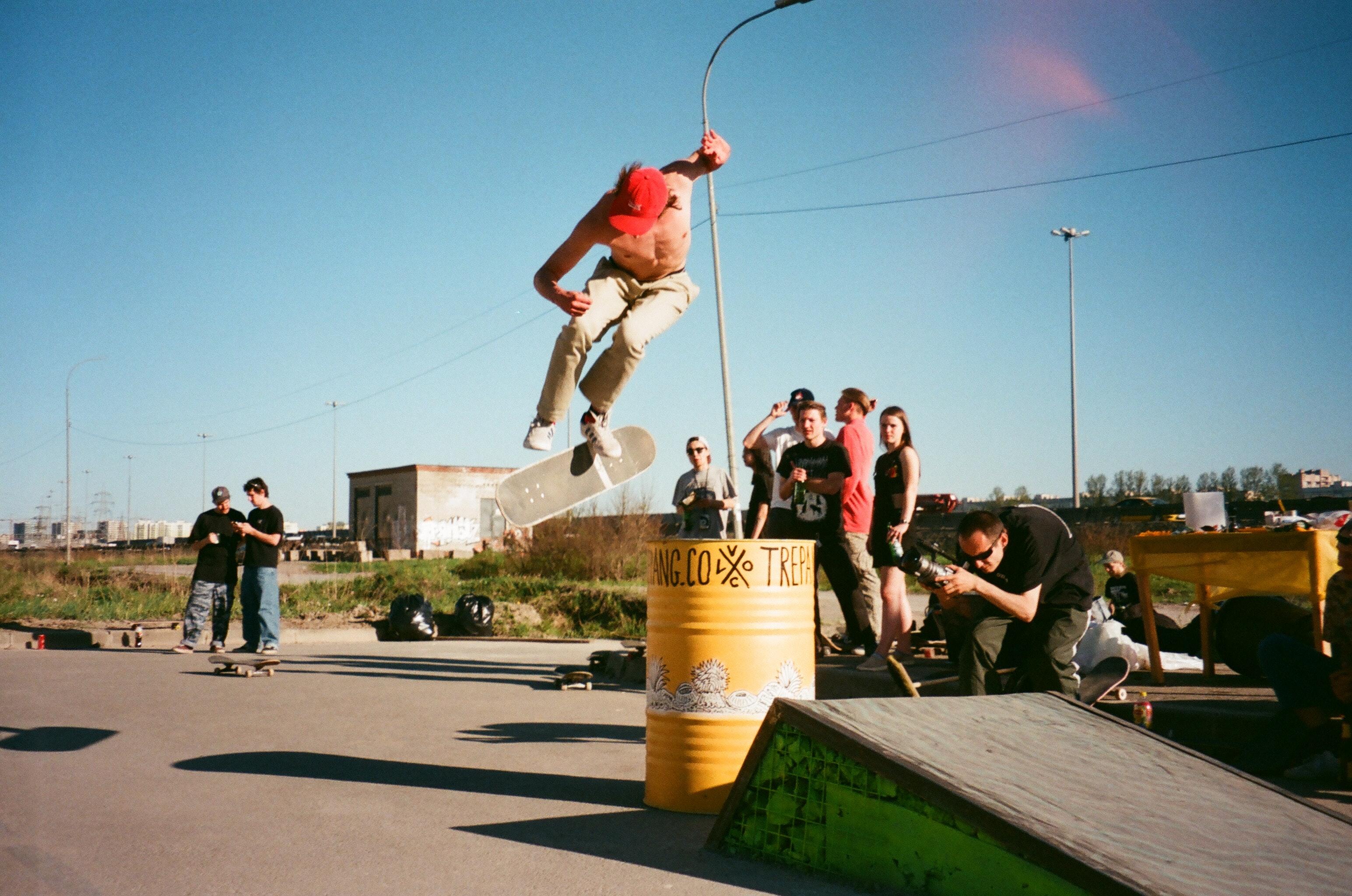 boy skateboarding grayscale photography  u00b7 free stock photo