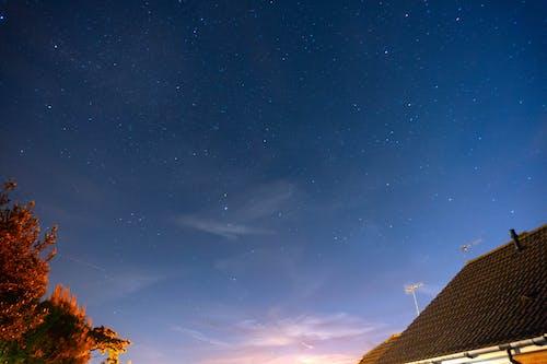 갤럭시, 경치가 좋은, 밤 시간, 별의 무료 스톡 사진