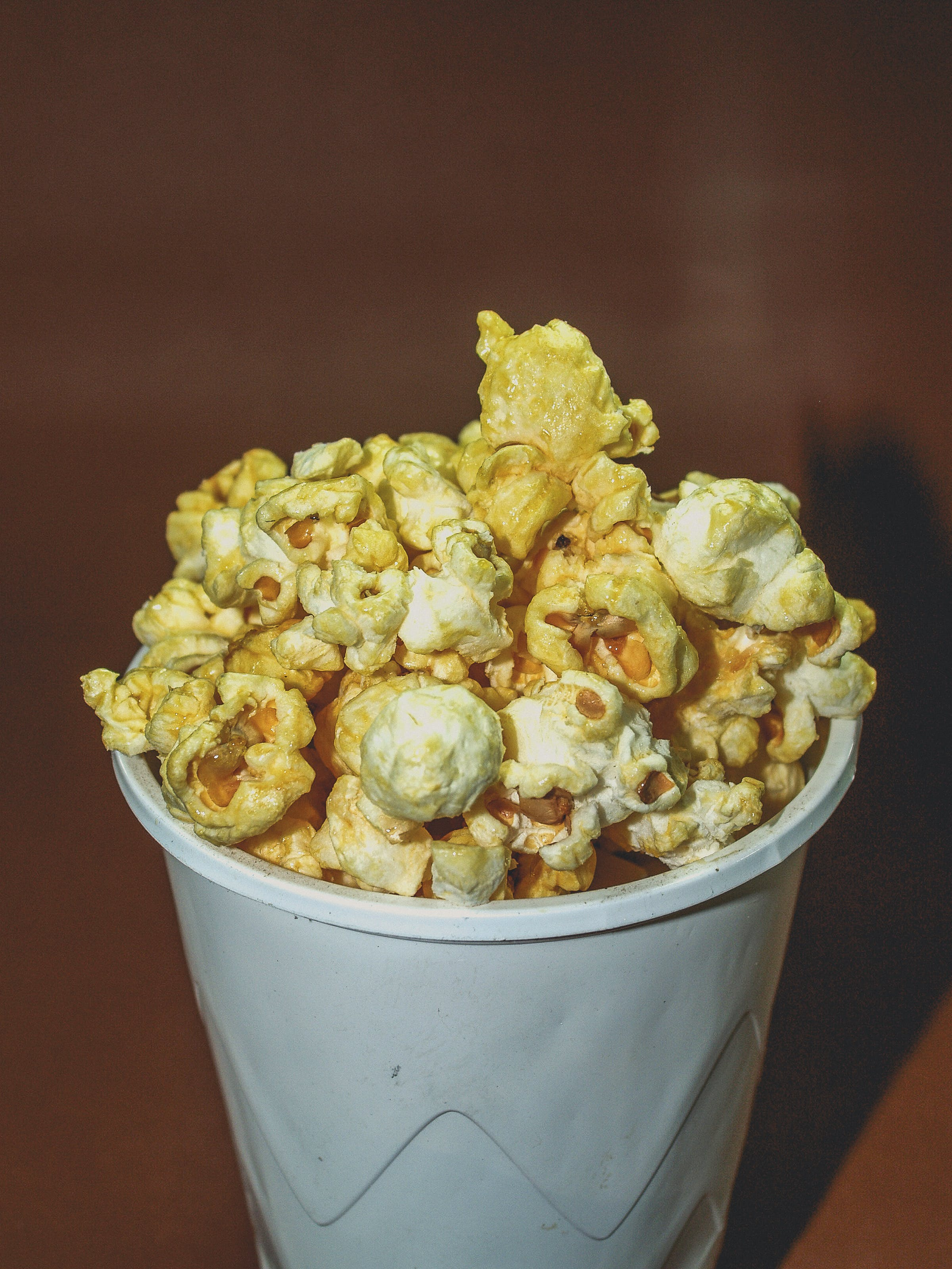 Popcorn on Disposable Cup