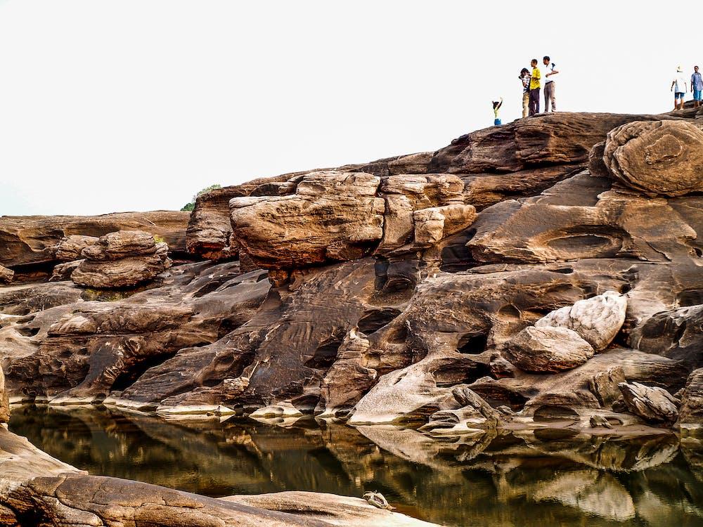 cestovný ruch, denné svetlo, geologický útvar